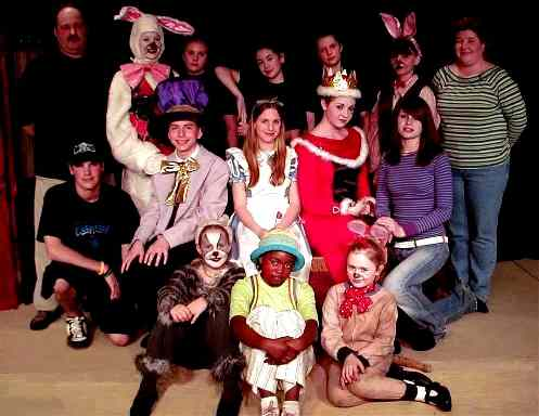 Medium Cast Play for Middle Schools - Alice in Wonderland