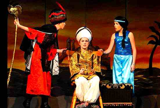 Aladdin for Middle School Kids and High Schools to perform!