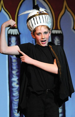 Aladdin is a great play for tweens and teens to perform!