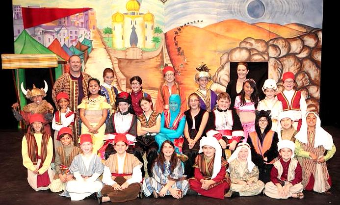 Large Cast Play Script for Children, Students and Schools!  Aladdin!