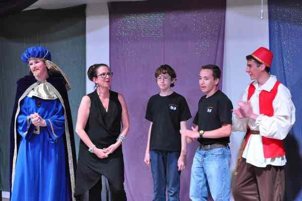 Aladdin Play for Young People to Perform!