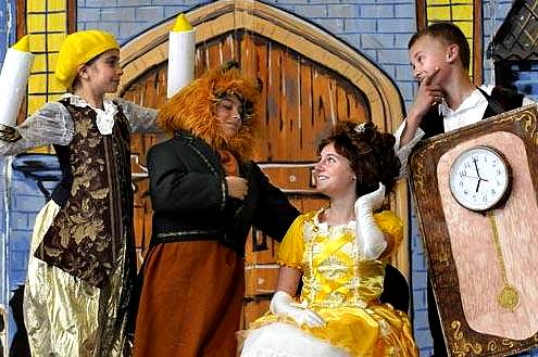 Beauty and the Beast!  Large Cast Play for Kids to Perform!