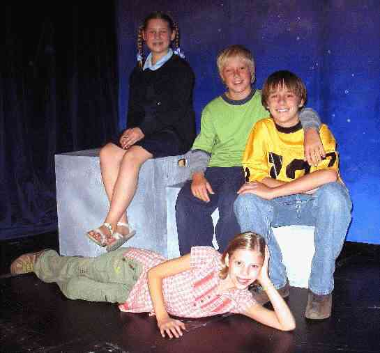 One Act Play for Children - Blue Horses