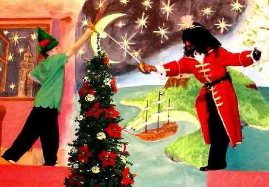 Musicals for Children, Kids and Schools!  A Christmas Peter Pan!
