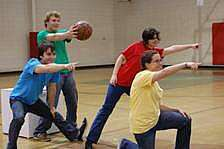 One Act Play for Children - Choosing Sides for Basketball