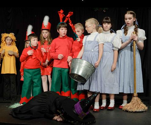 Fun, Easy Christmas Musical for Kids!  A Christmas Wizard of Oz!
