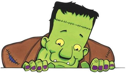 Monsters don't have to be scary - Frankenstein Monster!