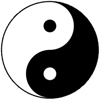 Yin and Yang, part of play Mulan.