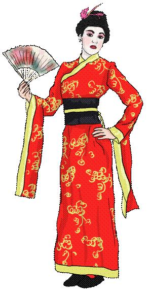 Mulan dresses as a man and then a woman!