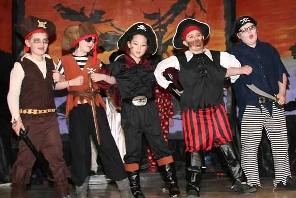 Pirates and Scoundrels in ArtReach's Peter Pan!