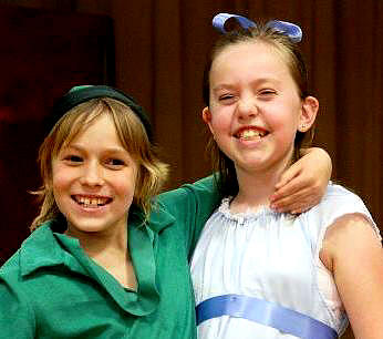 Peter Pan and Wendy!  ArtReach's School Play for Kids to Perform!
