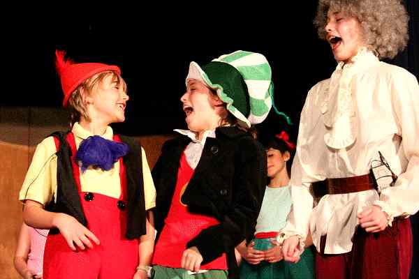 Uproarious Fun Comedy for Kids!  Pinocchio!