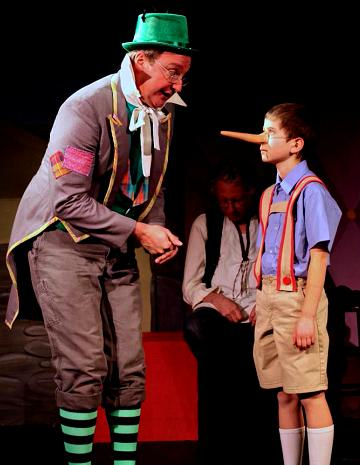 Popular title for children's theatre!  Pinocchio!