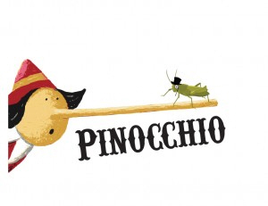 Pinocchio!  Classic story for young audiences!