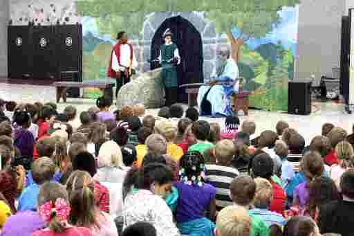 Perfect for School Tours - Educational Outreach!  Sword in the Stone!