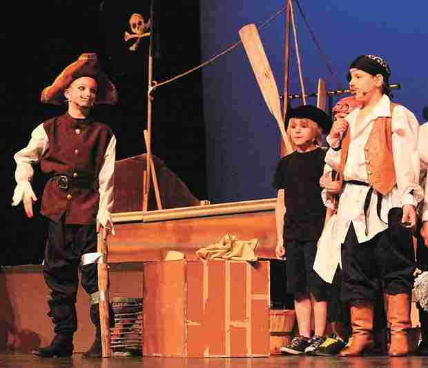 Treasure Island Musical Play for Kids!