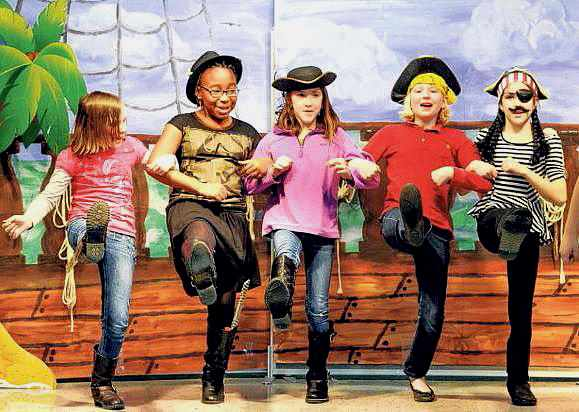 Treasure Island is written just for kids to perform!