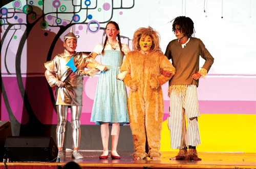 Dramatic Fun for Kids!  The Wizard of Oz!